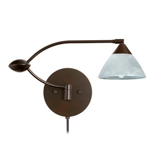 Besa Lighting Domi 1 Light Swing Arm Light