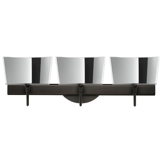 Besa Lighting Groove 3 Light Vanity Light