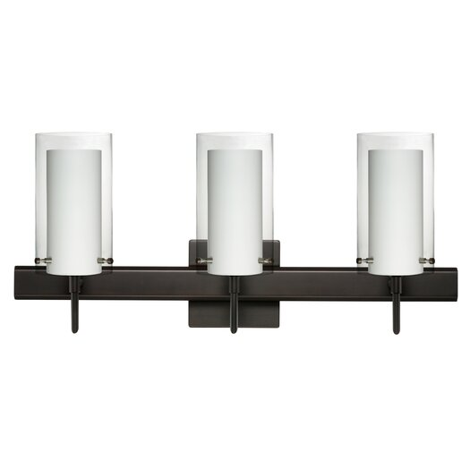 Besa Lighting Pahu 3 Light Vanity Light