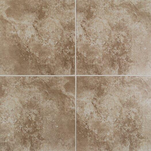 Mohawk Flooring Casa Loma Floor Tile in Brown Velvet