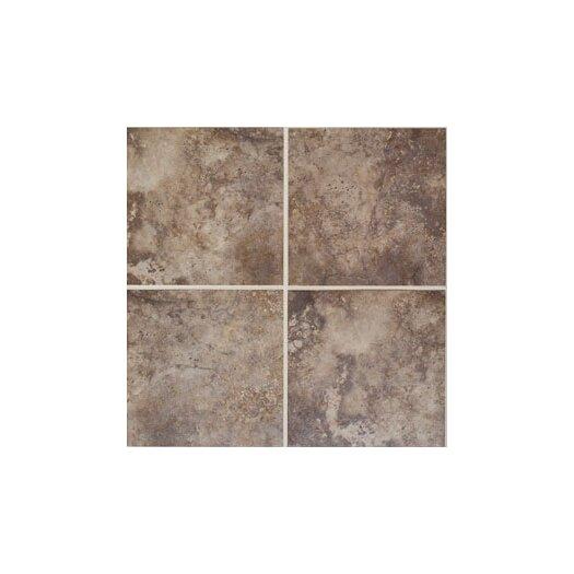 "Mohawk Flooring Natural Monticino 13"" x 3"" Bullnose Tile Trim in Noce"