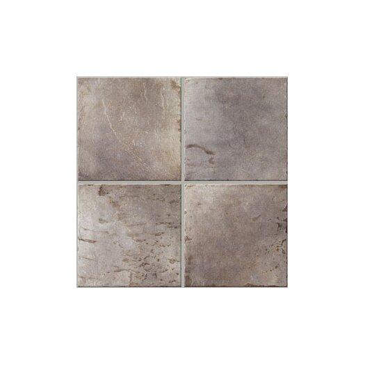 Mohawk Flooring Slate Porcelain Glazed Floor Tile in Slate