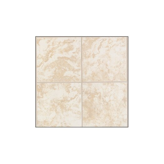 Mohawk Flooring Pavin Stone Wall Tile in White Linen