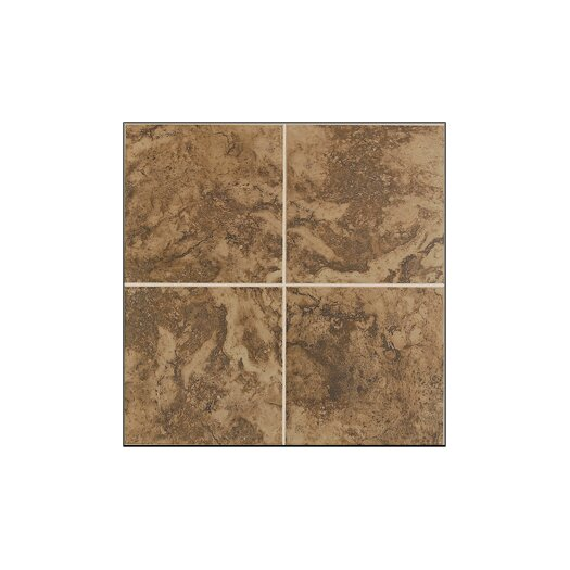 Mohawk Flooring Pavin Stone Wall Tile in Brown Suede