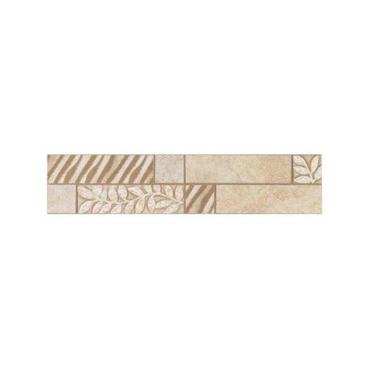 "Mohawk Flooring Natural Caridosa 13"" x 3"" Universal Decorative Border"