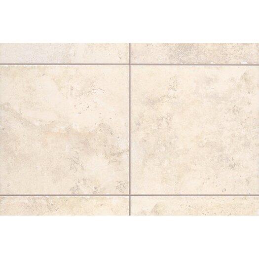 "Mohawk Flooring Natural Bucaro 6.5"" x 2"" Counter Rail Tile Trim in Bianco"