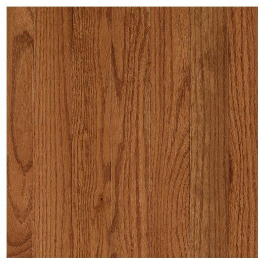 "Mohawk Flooring Lineage Rivermont 2 1/4"" Solid Oak Flooring in Chestnut"