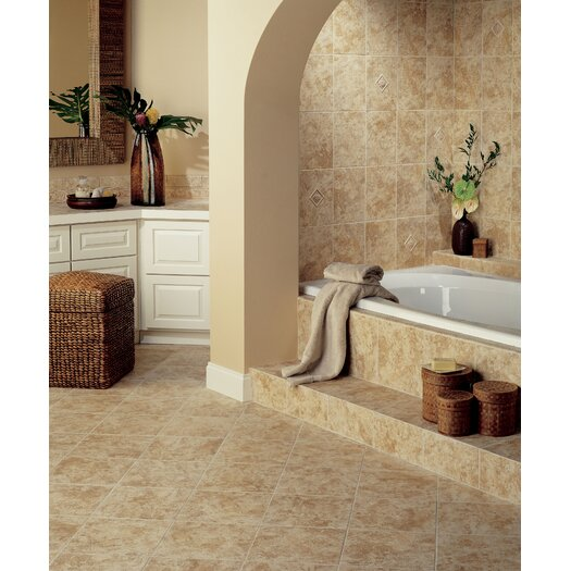 Mohawk Flooring Natural Ristano Ceramic Wall Tile in Noce
