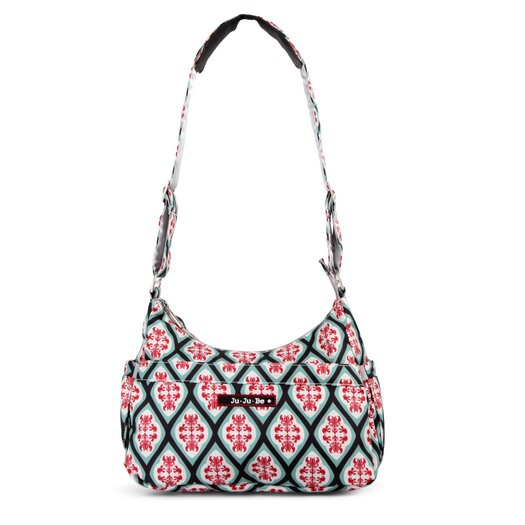 Ju Ju Be Hobo Be Messenger Diaper Bag in Dreamy Diamonds