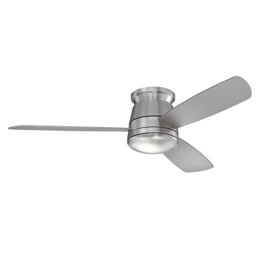"""Savoy House 52"""" The Conway 3 Blade Hugger Ceiling Fan with Remote"""