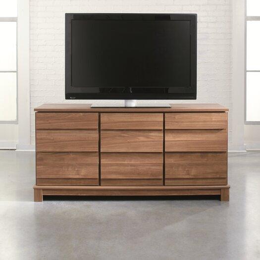 """Sauder Soft Modern 59"""" TV Stand"""