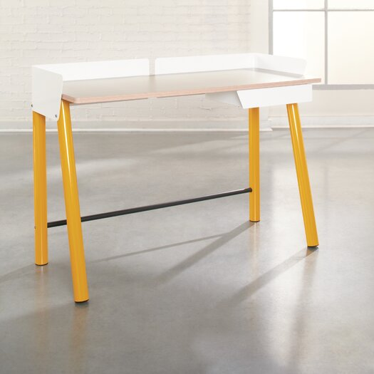 Sauder Soft Modern Writing Desk with Drawer