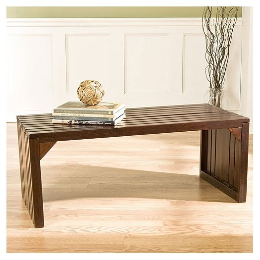 Wildon Home ® Wakefield Slat Table / Bench