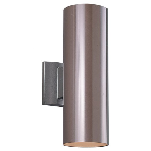 Sea Gull Lighting 2 Light Outdoor Wall Sconce