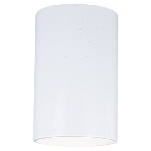 Sea Gull Lighting 1 Light Outdoor Flush Mount