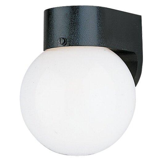 Sea Gull Lighting Outdoor 1 Light Wall Lantern