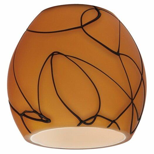 "Sea Gull Lighting 2.88"" Ambiance Transitions Glass Bell Pendant Shade"