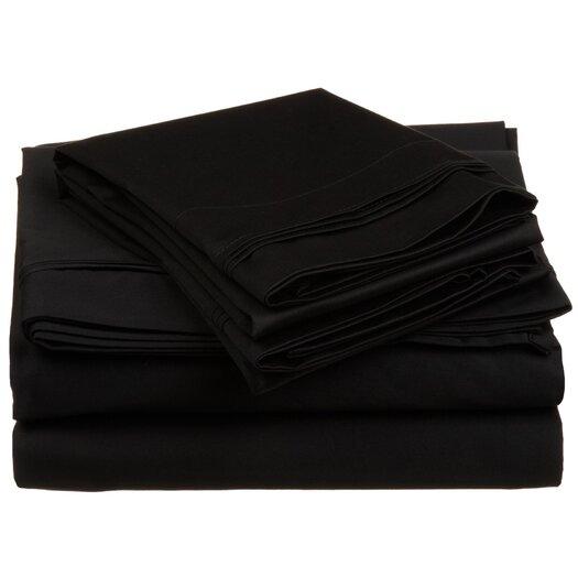 Simple Luxury 650 TC Egyptian Cotton Solid Sheet Set