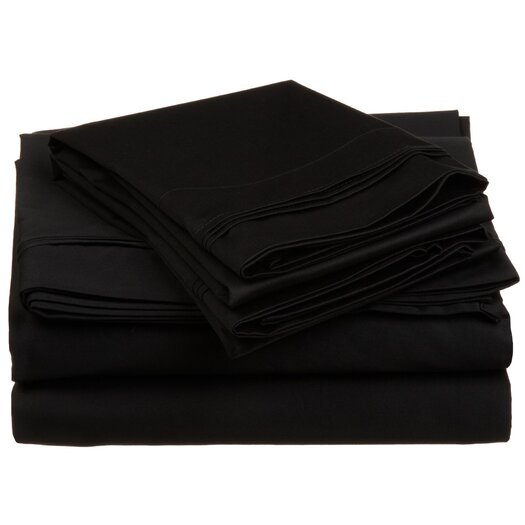 Simple Luxury 650 TC Egyptian Cotton Solid Sheet Set