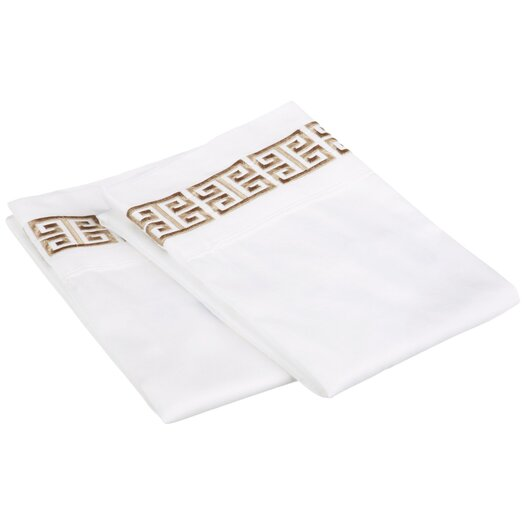 Simple Luxury Kendell Cotton Pillowcase Pair