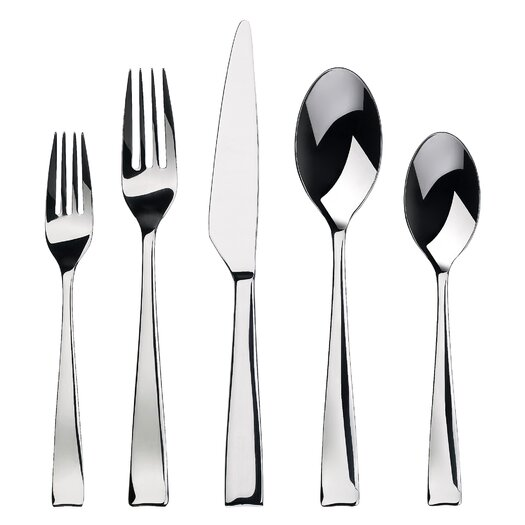 Gourmet Settings Everyday 20 Piece Strand Flatware Set