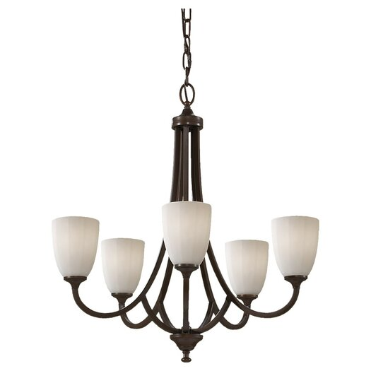 Feiss Perry 5 Light Chandelier