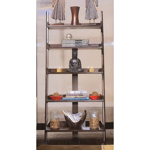 """American Drew Tribecca Leaning Wall 76"""" Bookcase"""