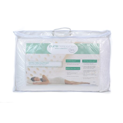 Serta Pure Response Latex Extra Firm Support Pillow
