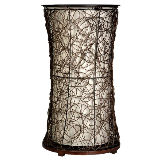 "StyleCraft 28"" H Table Lamp with Empire Shade"
