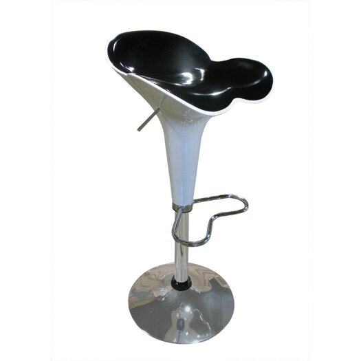 Global Furniture USA Petal Adjustable Height Bar Stool
