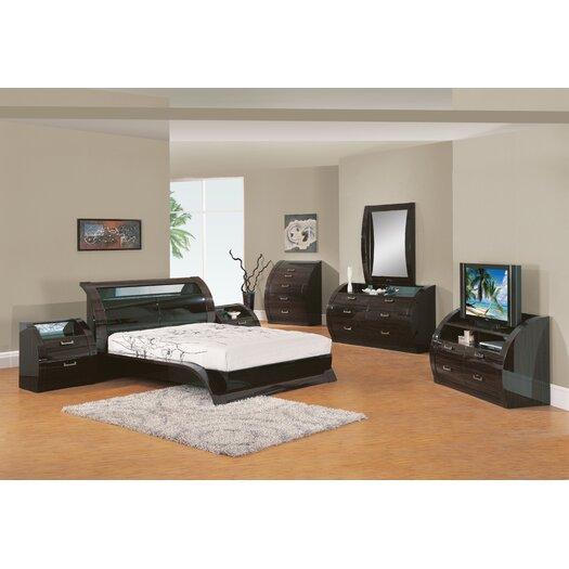Global Furniture USA Madison 2 Drawer Nightstand