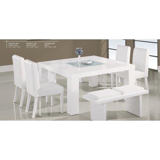 Global Furniture USA Charlotte Bench
