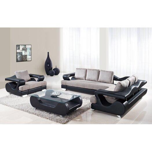 Global Furniture USA 2 Piece Sectional