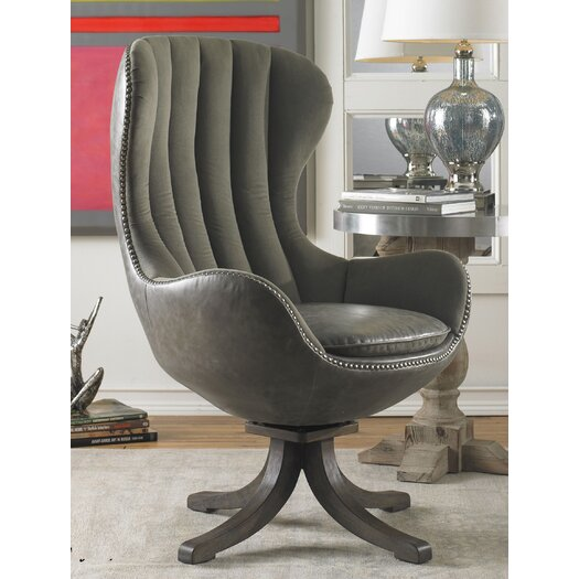 Uttermost Linford Swivel Arm Chair