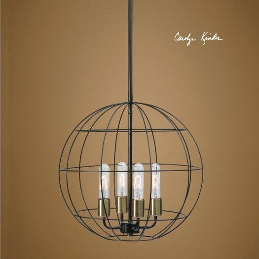 Uttermost Peri 4 Light Globe Pendant