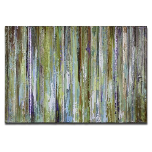 Uttermost Colorful Expressions Original Painting on Canvas