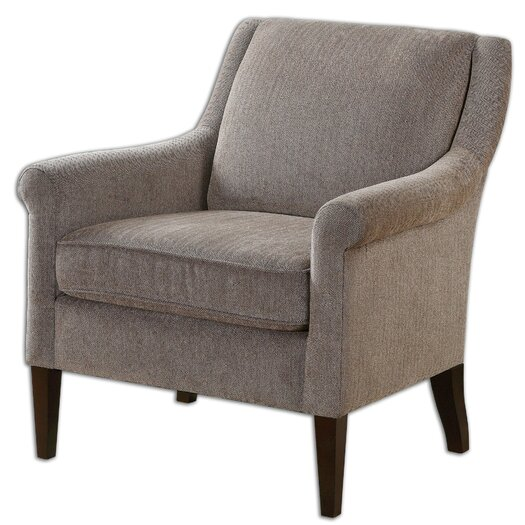 Uttermost Nelle Herringbone Arm Chair