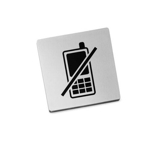 "ZACK Indici Information Sign ""No Mobile Phones"""
