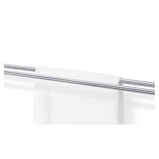 "ZACK Bathroom Accessories 25.6"" Wall Mounted Marino Double Towel Bar"