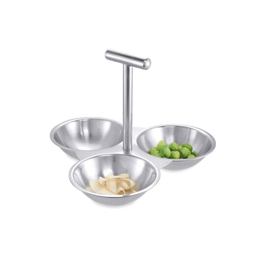 ZACK Dinnerware and Serving Pieces Volta Snack Bowl Condiment Server