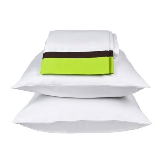 Bacati Valley of Flowers Sheet Set