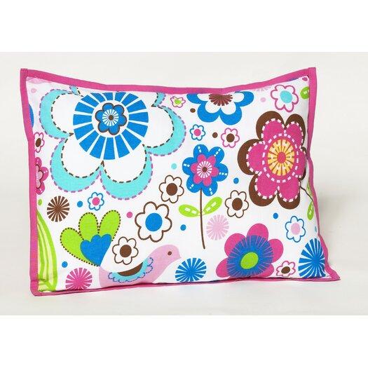Bacati Botanical Sanctuary Decorative Pillow