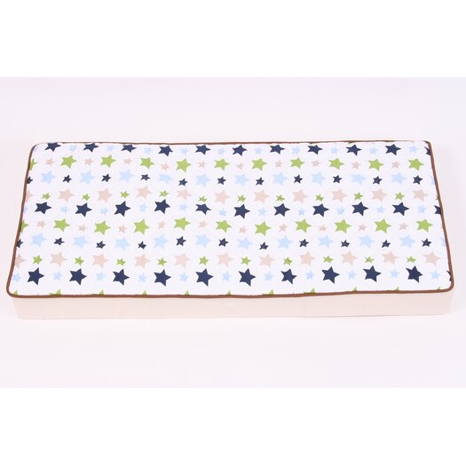 Bacati Camo Air Changing Pad Cover