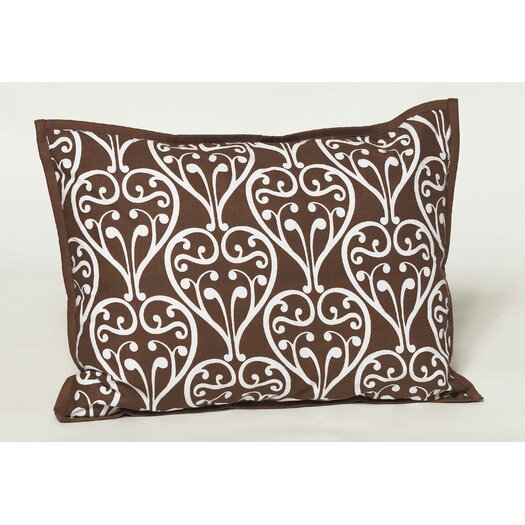 Bacati Damask Decorative Pillow