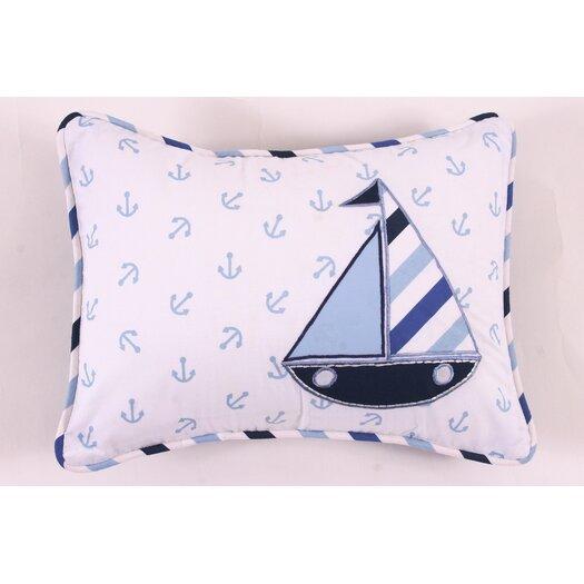 Bacati Little Sailor Decorative Pillow