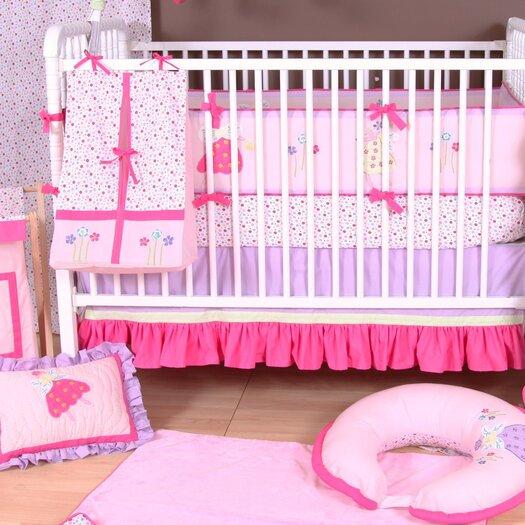 Bacati Fairyland Pink Area Rug