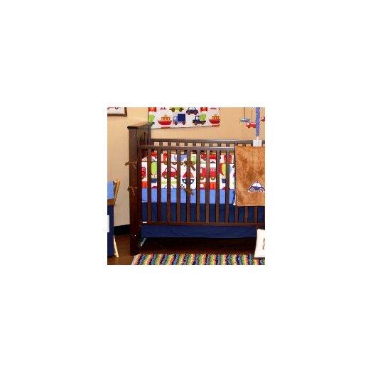Bacati Transportation Crib Fitted Sheet