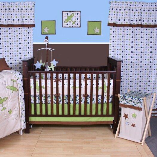Bacati Camo Air Printed Crib Fitted Sheet