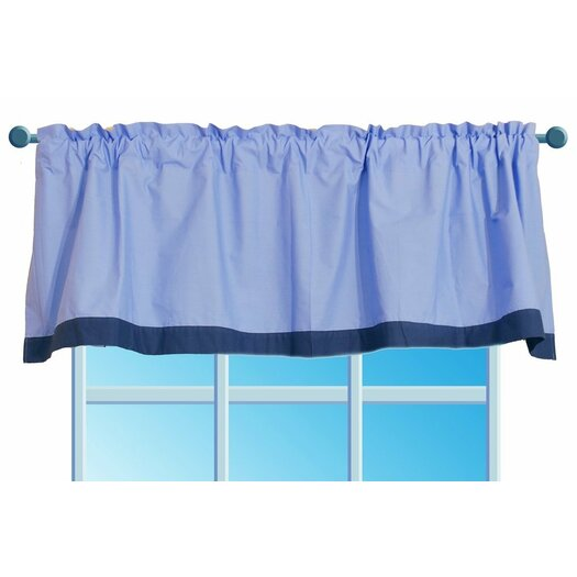 "Bacati Transportation 58"" Curtain Valance"