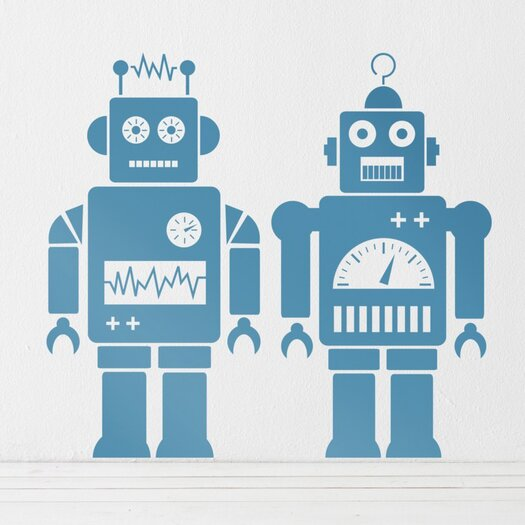 ferm LIVING Robot Wall Decal